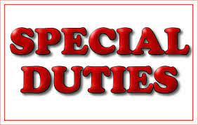 Special Duties